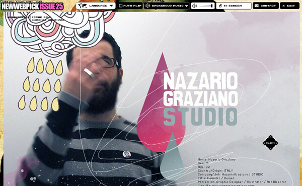 Nazario Graziano - Interview on Newwebpick #25