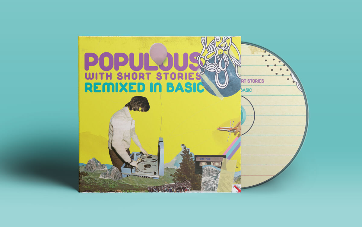 Nazario Graziano - POPULOUS – Remixed in basic