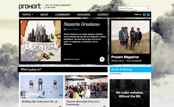Nazario Graziano - Interview on PROXART