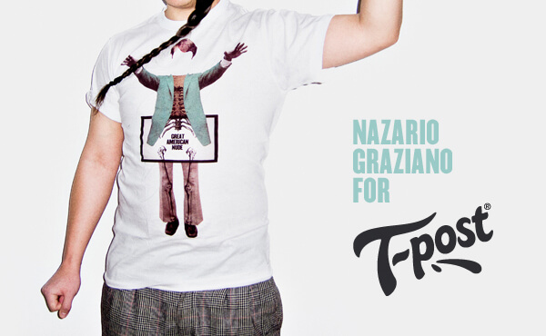 Nazario Graziano - T-shirt for T-post
