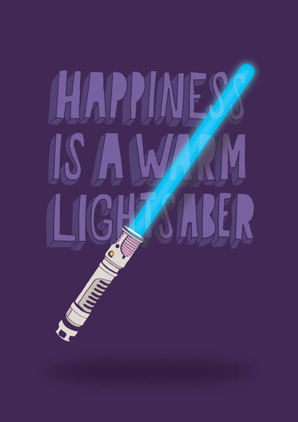 Nazario Graziano - Happiness is a warm lightsaber