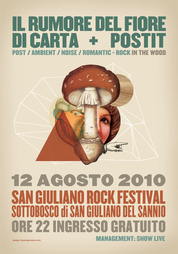 Nazario Graziano - POSTER / EVENTS | Mix 2011 2006